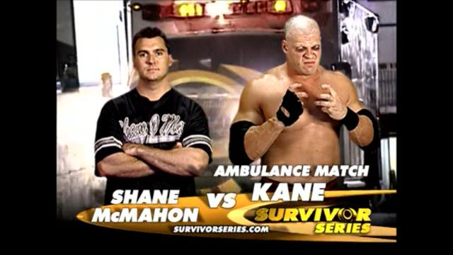 Kane vs Shane McMahon (Ambulance match)