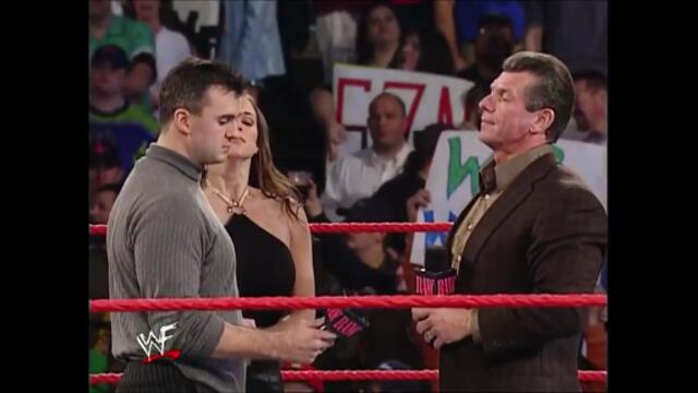 Shane McMahon and Stephanie McMahon out to WWF