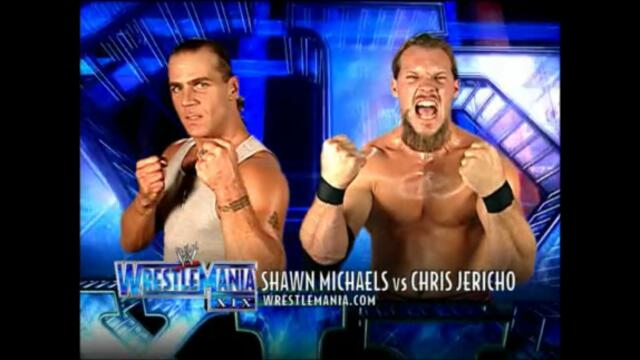 Shawn Michaels vs Chris Jericho (WrestleMania XIX)