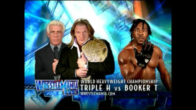 Triple H vs Booker T (World Heavyweight Championship WrestleMania XIX)