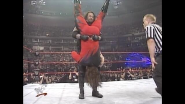 WWF The Undertaker vs Kane from WrestleMania XIV 2/2