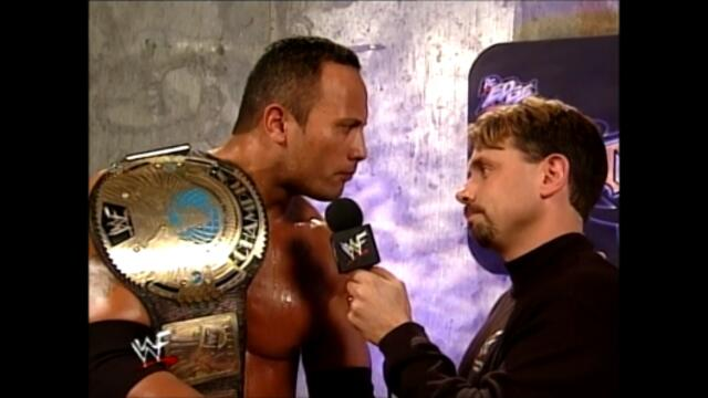 The Rock vs Chris Benoit vs Kane vs The Undertaker (Fatal 4-Way match for the WWF Championship) Promo