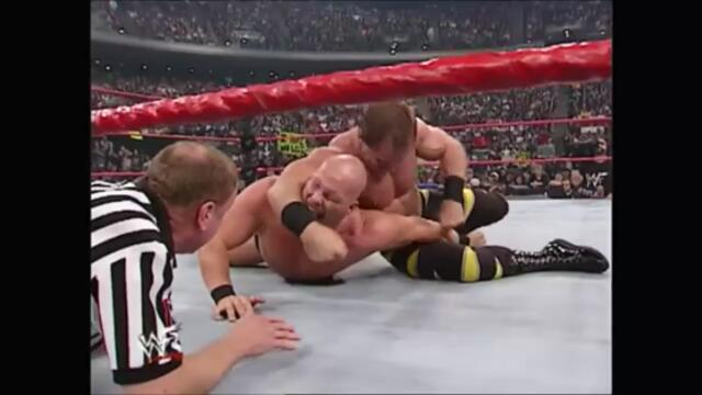 WWF Steve Austin vs Chris Benoit Main Event (Raw 20.11.2000)