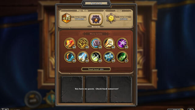 [Heartstone] Insane 7 Milion Wins Total and 100k wins on Arena this guy is Unreal Legend 442