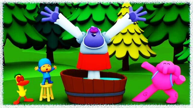 💖 The Bath Song POCOYO IETE 💞 Kids songs, Desenho Infantil com música, Canciones para Niños❤