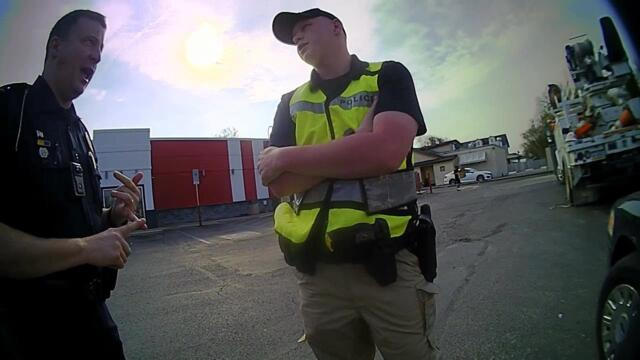 Full Body Camera Video - Man accused of impersonating a police officer in Whitehall
