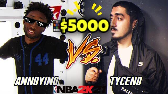 Tyceno Vs AnnoyingTv |$5000 Wager| Best of 7 Full Game!