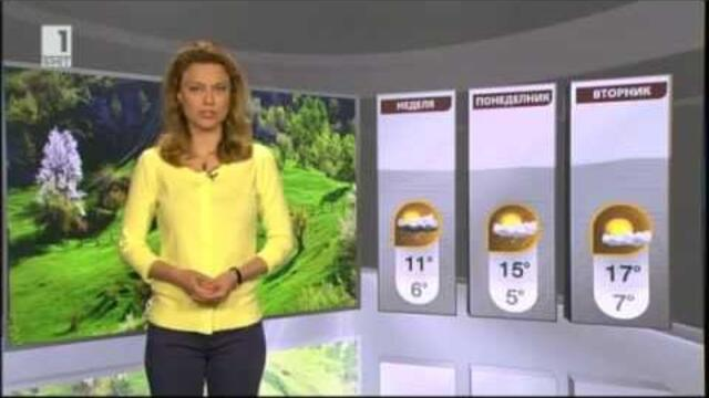 BNT Weather forecast Bulgaria - 04.04.2014 (20:50h)