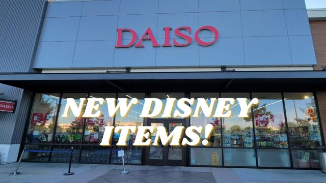 DAISO -DISNEY ITEMS-MICKEY MOUSE AND MORE!  #daiso