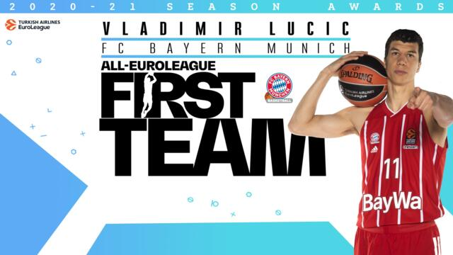 All-EuroLeague First Team: Vladimir Lucic, FC Bayern Munich