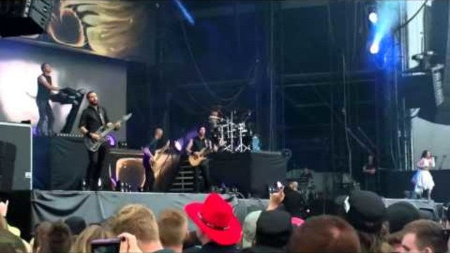 Within Temptation @ Graspop 2013