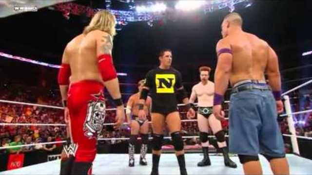 JOHN CENA,EDGE,SHEAMUS, Chris Jericho, randy orton, Wade Barrett