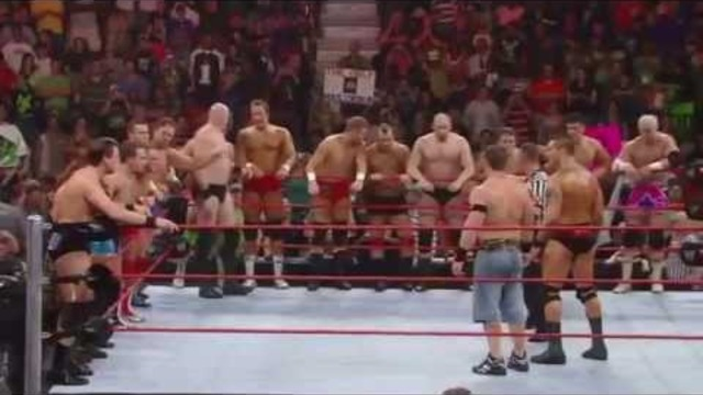 WWE: John Cena & Randy Orton Battle the Entire RAW Roster