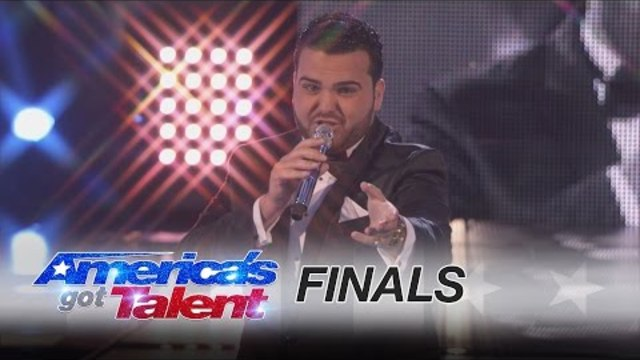 "Sal Valentinetti: Singer Performs Cool ""Mack the Knife"" Cover - America's Got Talent 2016"