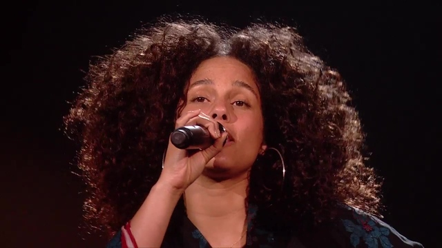 Alicia Keys performs Blended Family on The X Factor! - Results Show - The X Factor UK 2016
