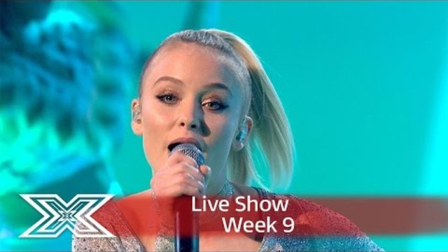 Zara Larsson performs on The X Factor!  | Results Show | The X Factor UK 2016