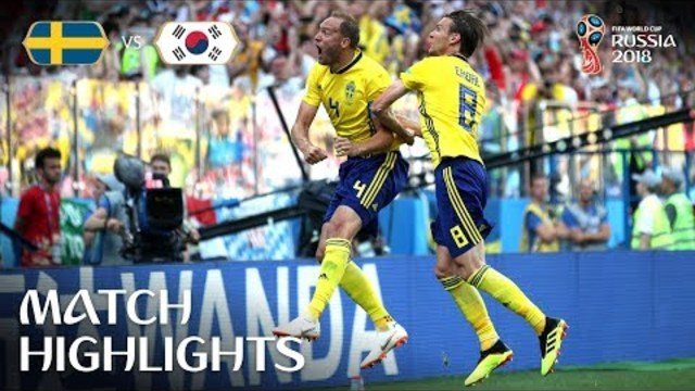 Sweden v Korea Republic - 2018 FIFA World Cup Russia™ - Match 12